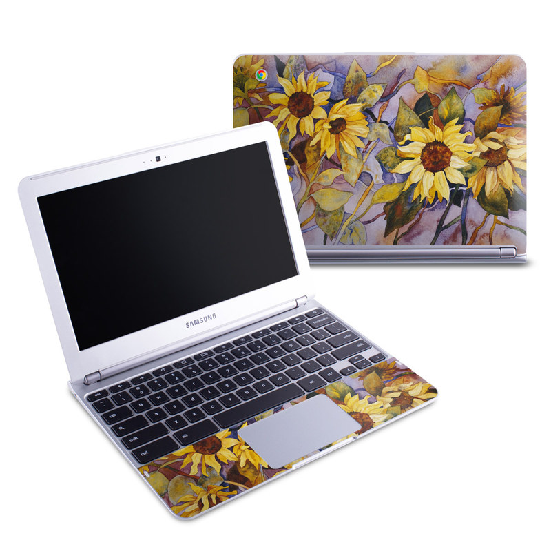 Sunflower Samsung Chromebook 1 Skin