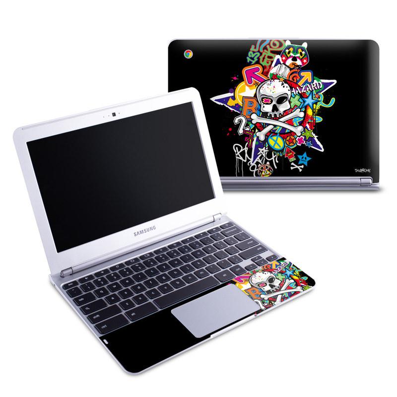 Skulldaze Samsung Chromebook 1 Skin