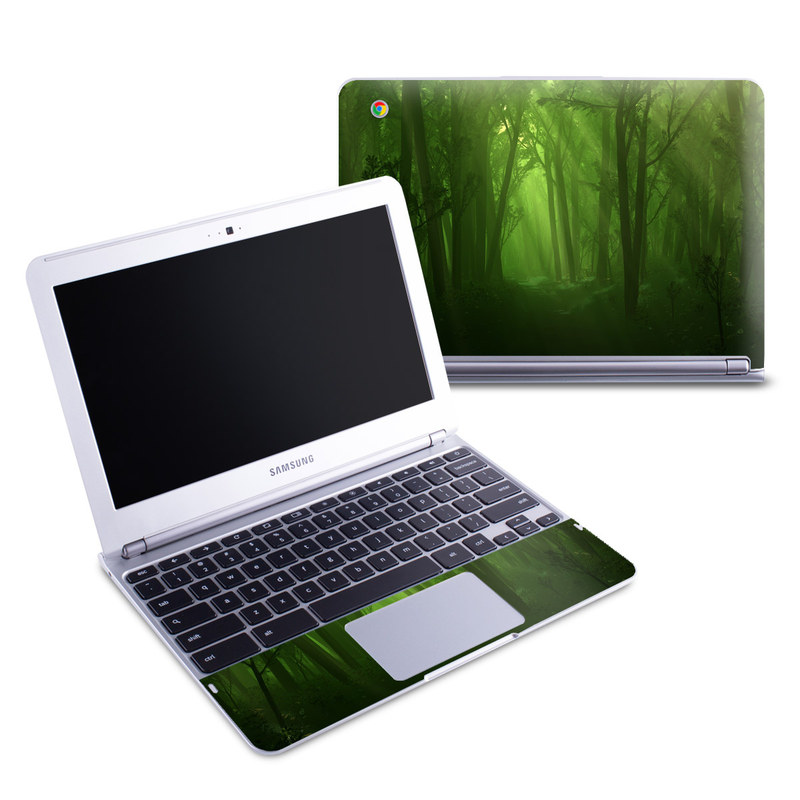 Spring Wood Samsung Chromebook 1 Skin