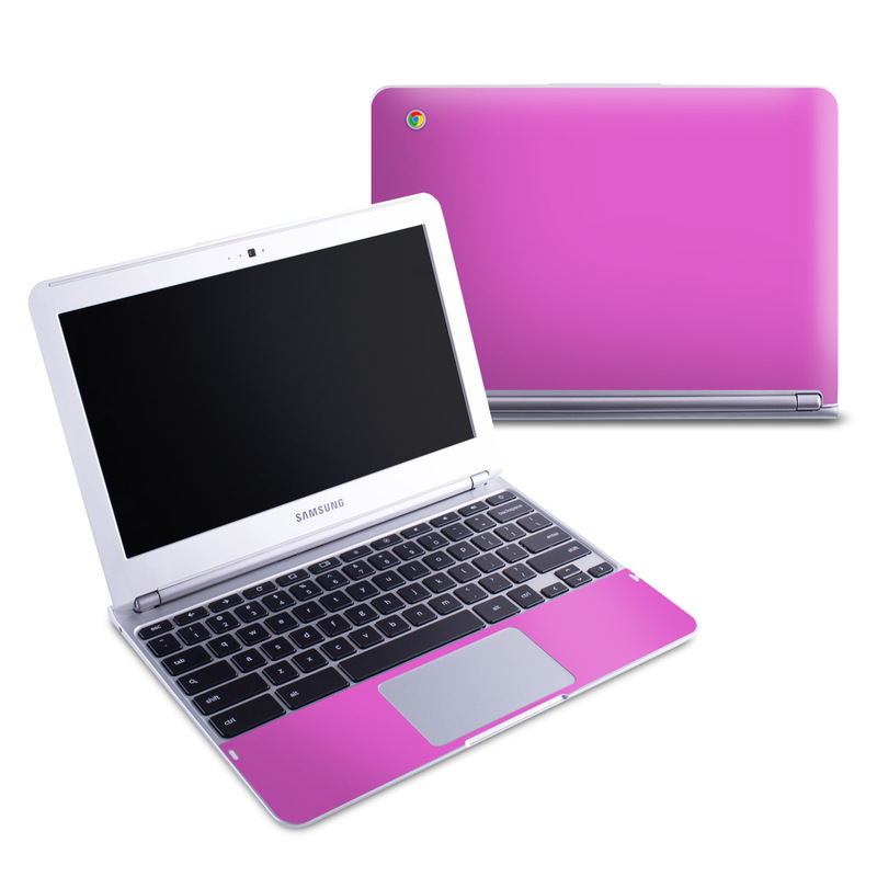 Solid State Vibrant Pink Samsung Chromebook 1 Skin