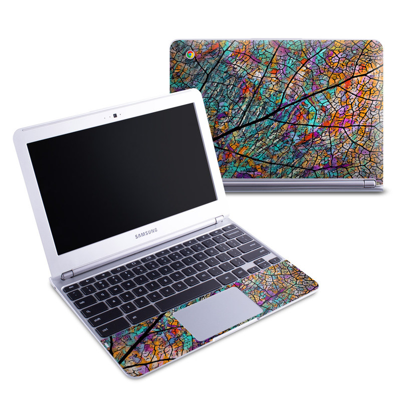 Stained Aspen Samsung Chromebook 1 Skin