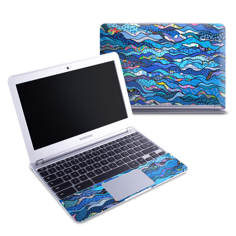 The Blues Samsung Chromebook 1 Skin