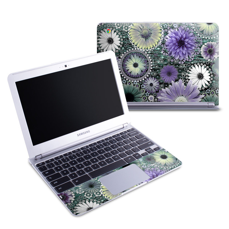 Tidal Bloom Samsung Chromebook 1 Skin