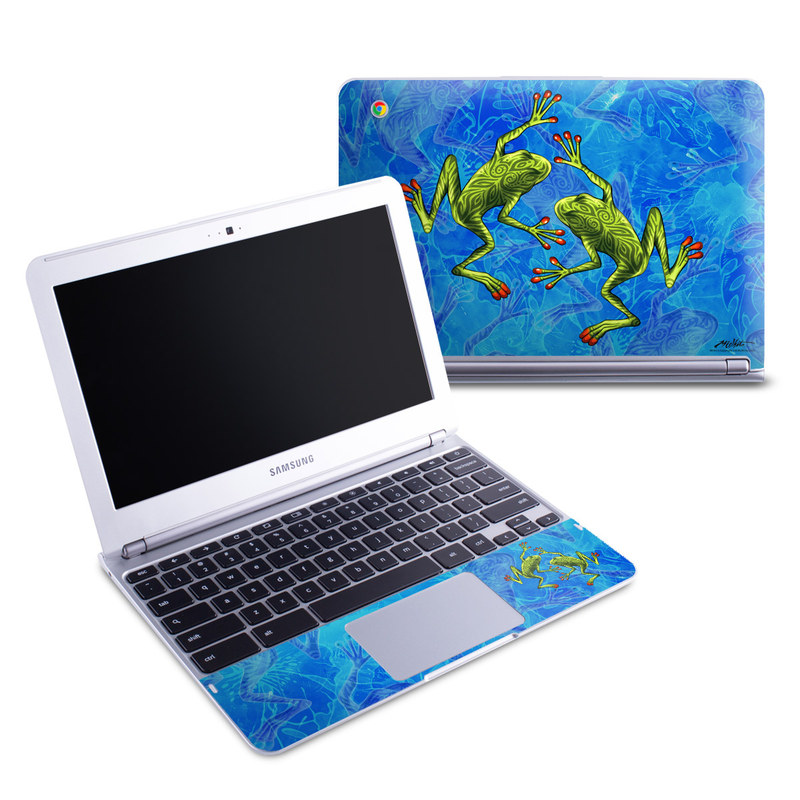 Tiger Frogs Samsung Chromebook 1 Skin