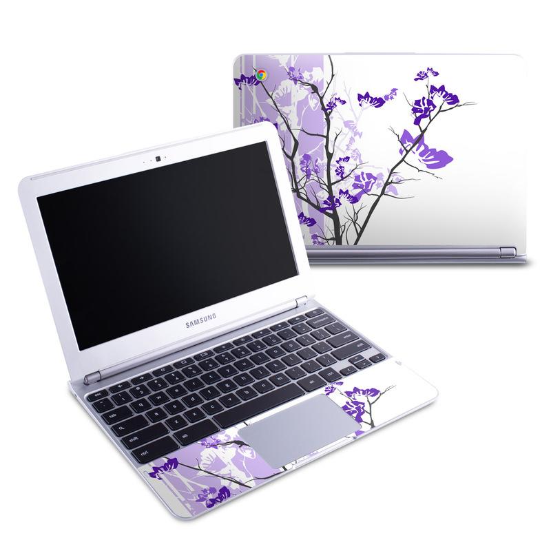 Violet Tranquility Samsung Chromebook 1 Skin