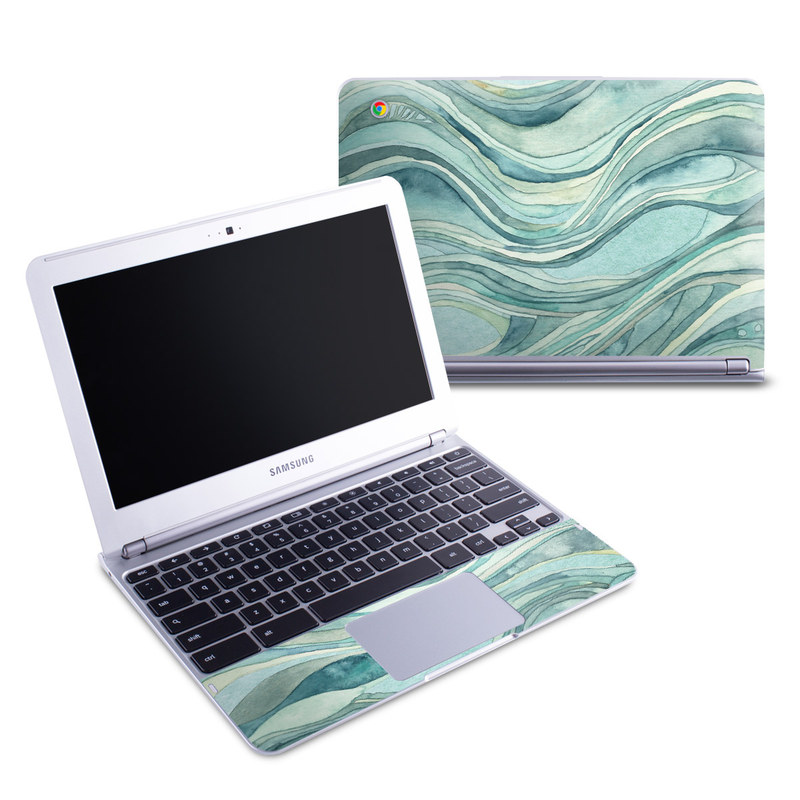 Waves Samsung Chromebook 1 Skin