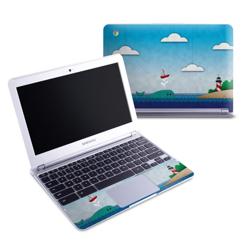 Whale Sail Samsung Chromebook 1 Skin