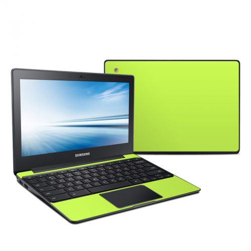 Solid State Lime Samsung Chromebook 2 Skin