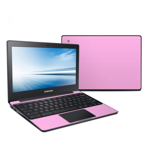 Solid State Pink Samsung Chromebook 2 Skin