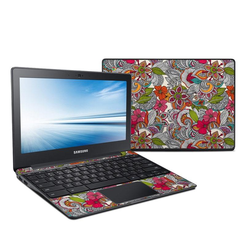 Doodles Color Samsung Chromebook 2 Skin