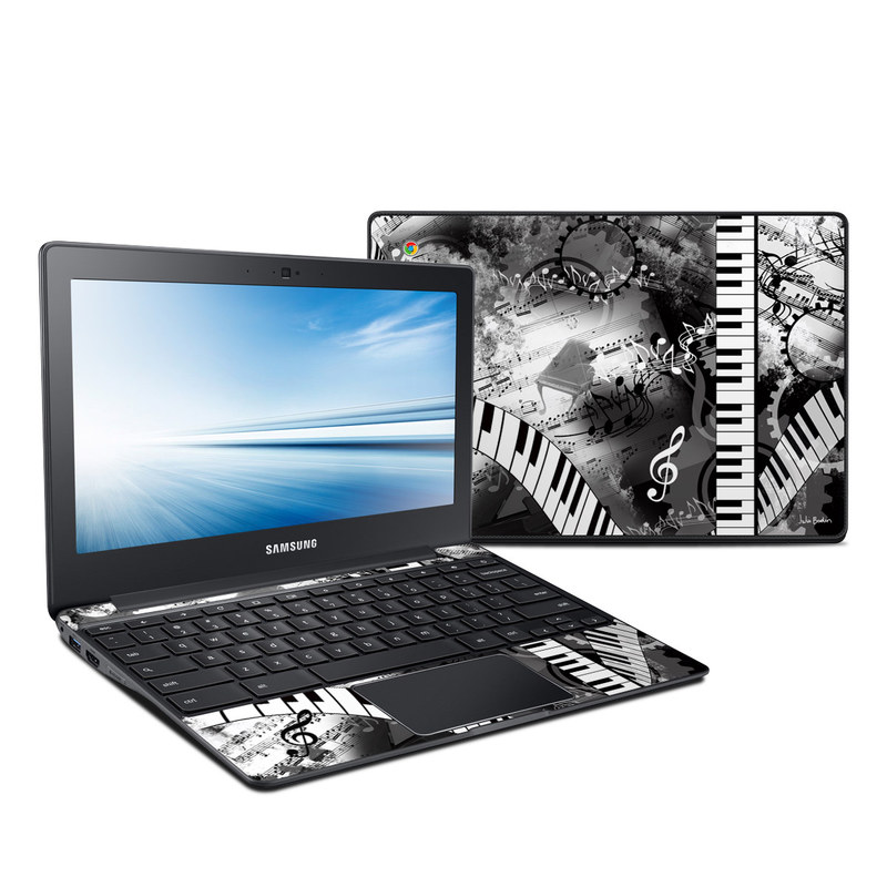Piano Pizazz Samsung Chromebook 2 11.6-inch XE500C12 Skin