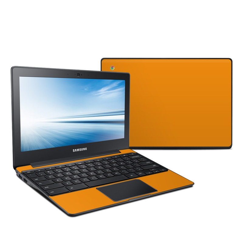 Solid State Orange Samsung Chromebook 2 Skin