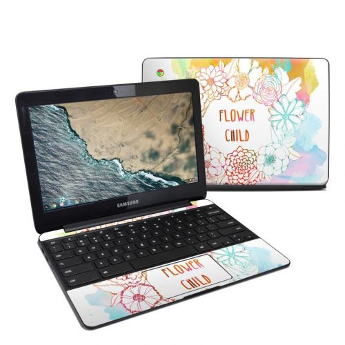 Flower Child Samsung Chromebook 3 Skin