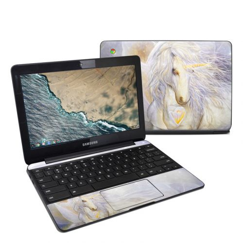 Heart Of Unicorn Samsung Chromebook 3 Skin