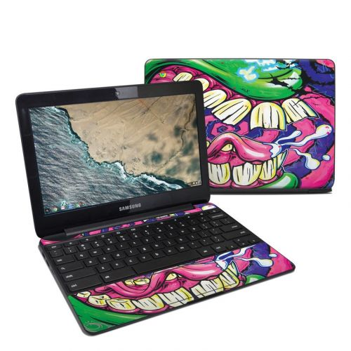 Mean Green Samsung Chromebook 3 Skin