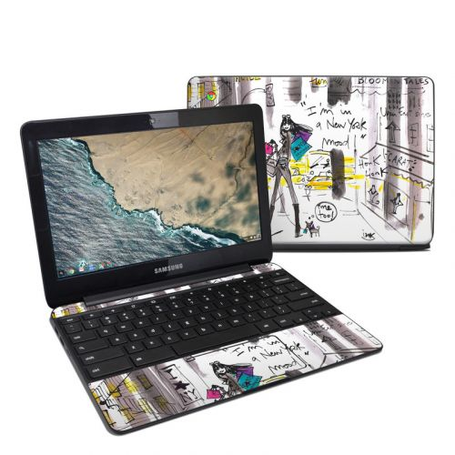 My New York Mood Samsung Chromebook 3 Skin