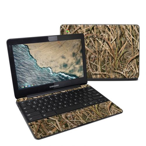 Shadow Grass Blades Samsung Chromebook 3 Skin