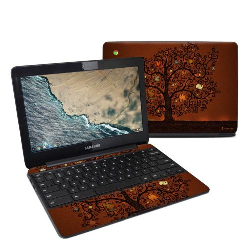 Tree Of Books Samsung Chromebook 3 Skin