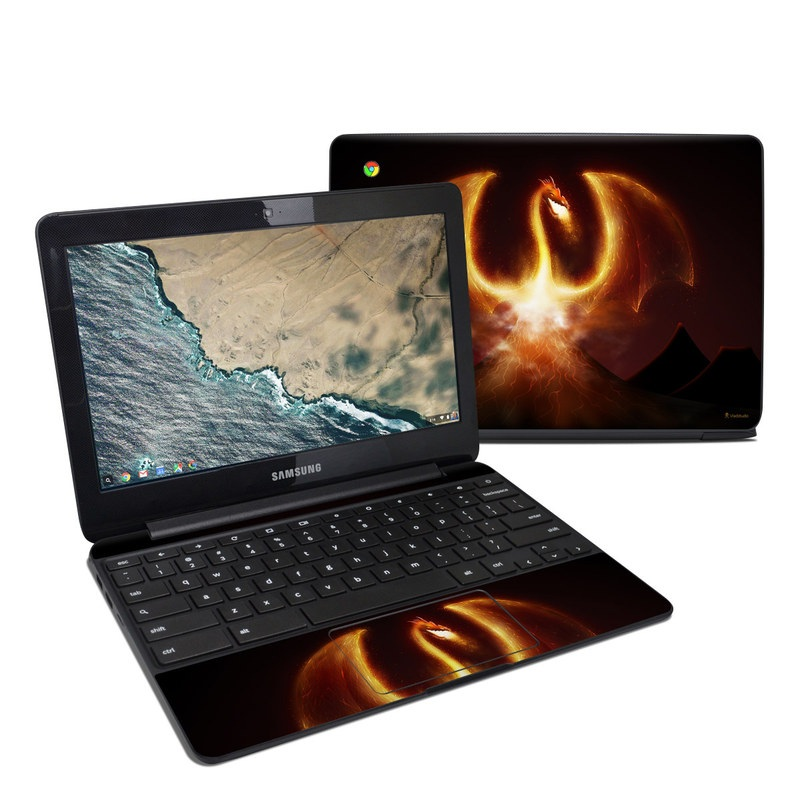 Fire Dragon Samsung Chromebook 3 Skin