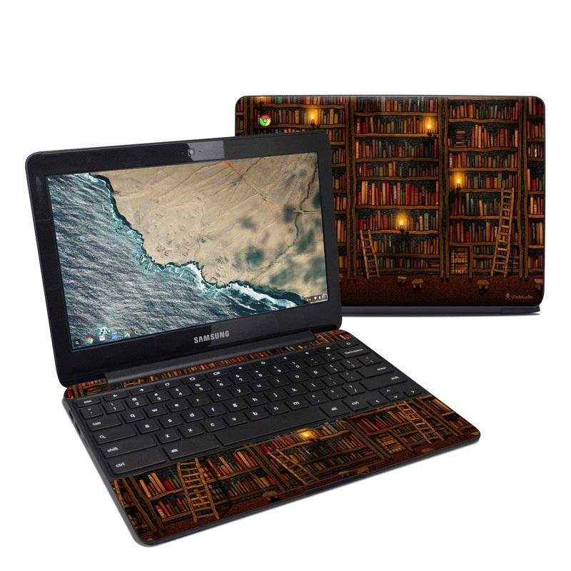 Library Samsung Chromebook 3 Skin