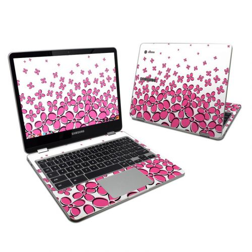 Pink Samsung Chromebook Plus 2017 Skin