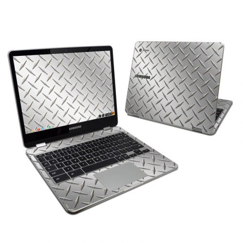 Diamond Plate Samsung Chromebook Plus Skin