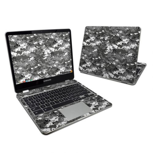 Digital Urban Camo Samsung Chromebook Plus Skin