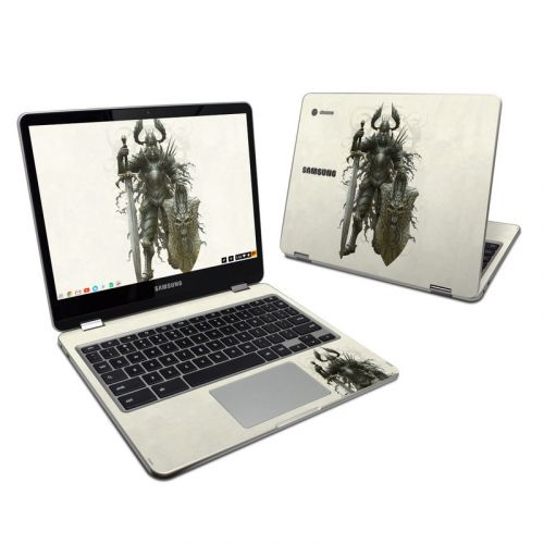 Dark Knight Samsung Chromebook Plus Skin