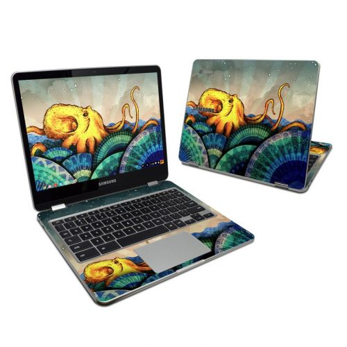 From the Deep Samsung Chromebook Plus Skin