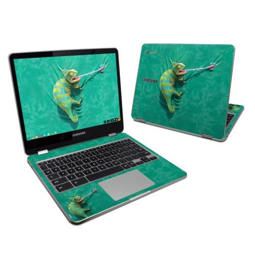 Iguana Samsung Chromebook Plus 2017 Skin