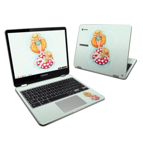 Inner Tube Girls Samsung Chromebook Plus Skin