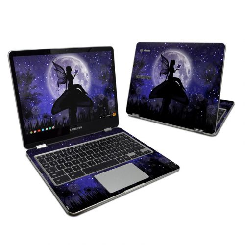 Moonlit Fairy Samsung Chromebook Plus Skin
