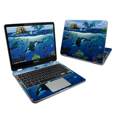 Oceans For Youth Samsung Chromebook Plus 2017 Skin