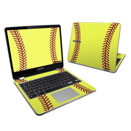 Softball Samsung Chromebook Plus Skin