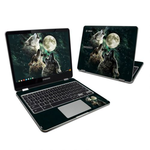 Three Wolf Moon Samsung Chromebook Plus Skin