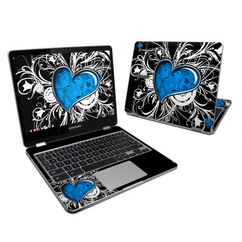 Your Heart Samsung Chromebook Plus Skin