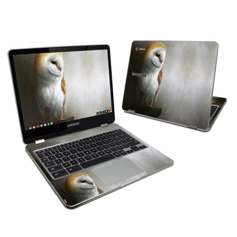 Barn Owl Samsung Chromebook Plus 2017 Skin