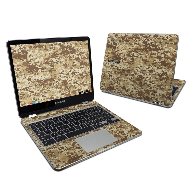Coyote Camo Samsung Chromebook Plus 2017 Skin