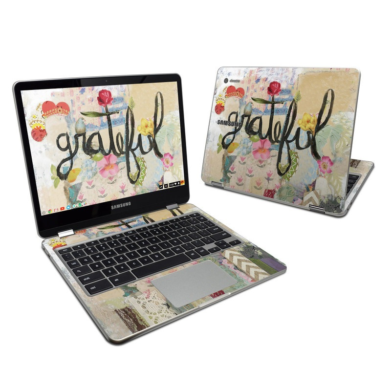 Grateful Samsung Chromebook Plus Skin