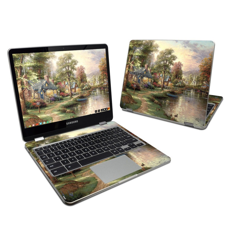 Hometown Lake Samsung Chromebook Plus Skin