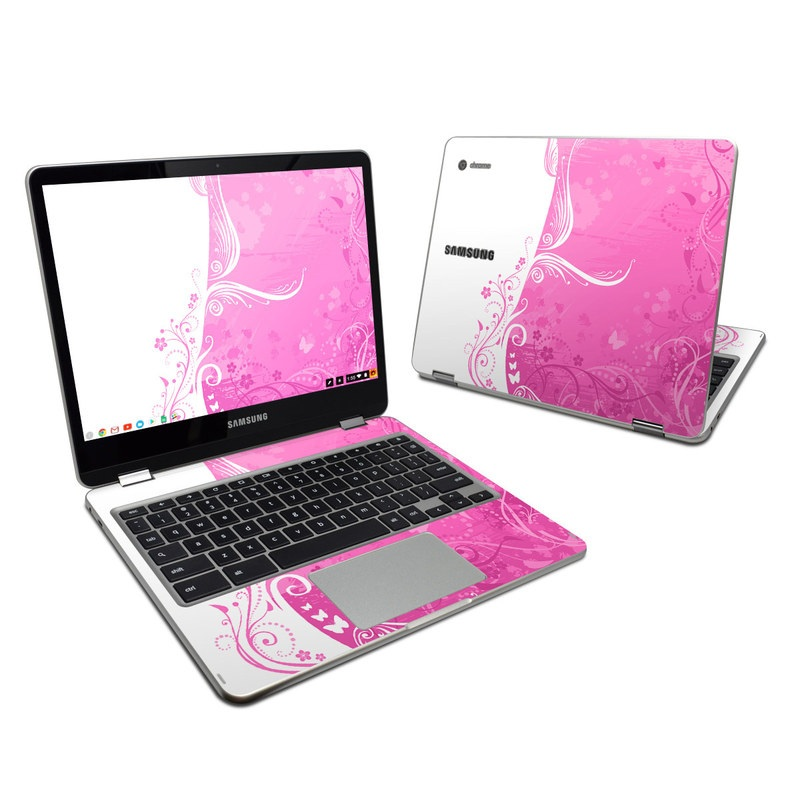 Pink Crush Samsung Chromebook Plus Skin