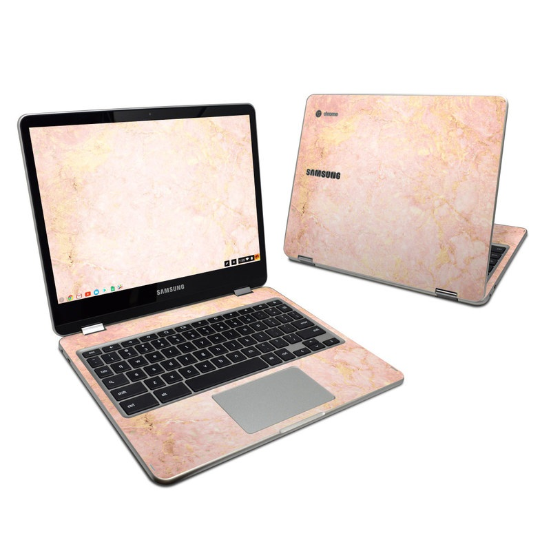 Rose Gold Marble Samsung Chromebook Plus 2017 Skin Istyles