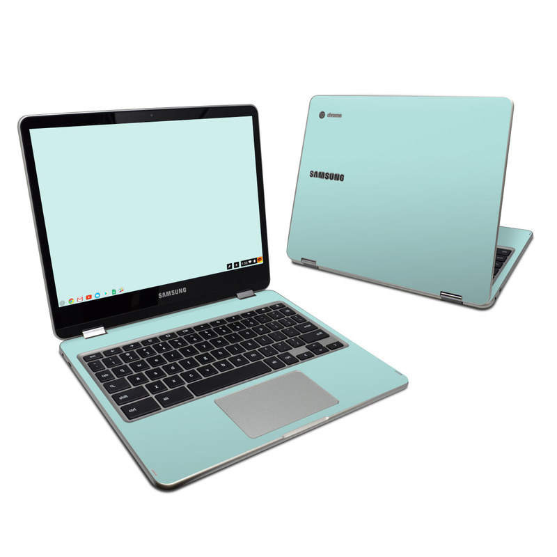 Solid State Mint Samsung Chromebook Plus Skin