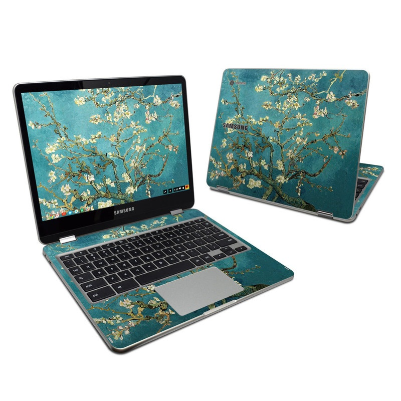 Blossoming Almond Tree Samsung Chromebook Plus Skin