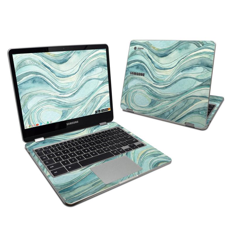 Waves Samsung Chromebook Plus Skin