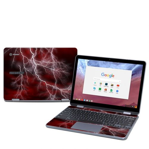 Apocalypse Red Samsung Chromebook Plus 2018 Skin