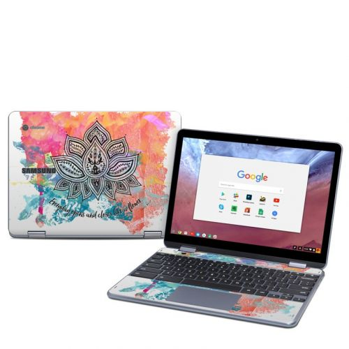 Happy Lotus Samsung Chromebook Plus 2018 Skin