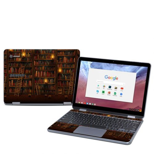 Library Samsung Chromebook Plus 2018 Skin