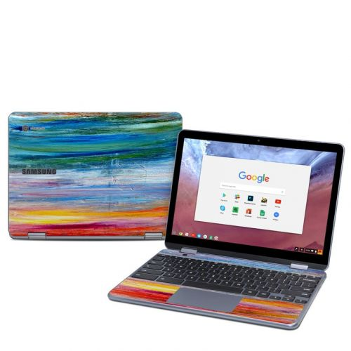 Waterfall Samsung Chromebook Plus 2018 Skin
