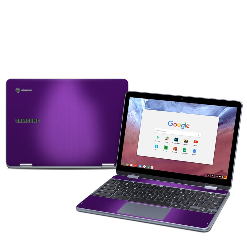 Purple Burst Samsung Chromebook Plus 2018 Skin Istyles